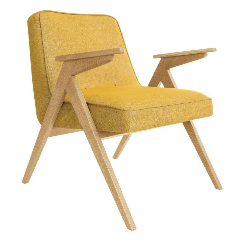 366 Concept Bunny armchair Loft 05 Mustard Oak e1521045090618