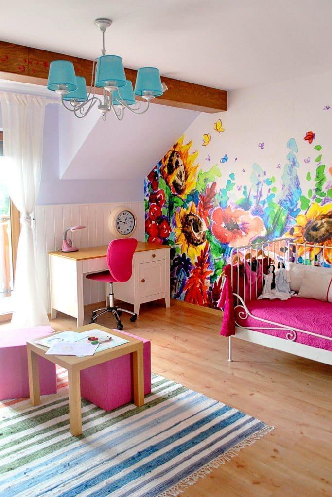 pokój dziecięcy - pomoc architekta wnętrz