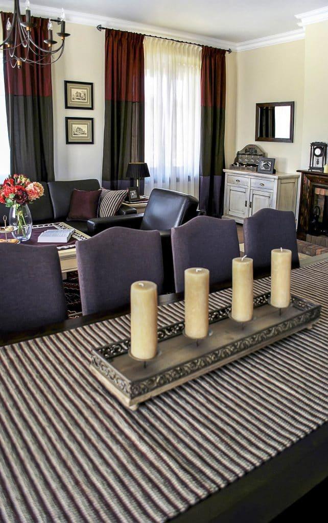 salon w stylu tradycyjnym