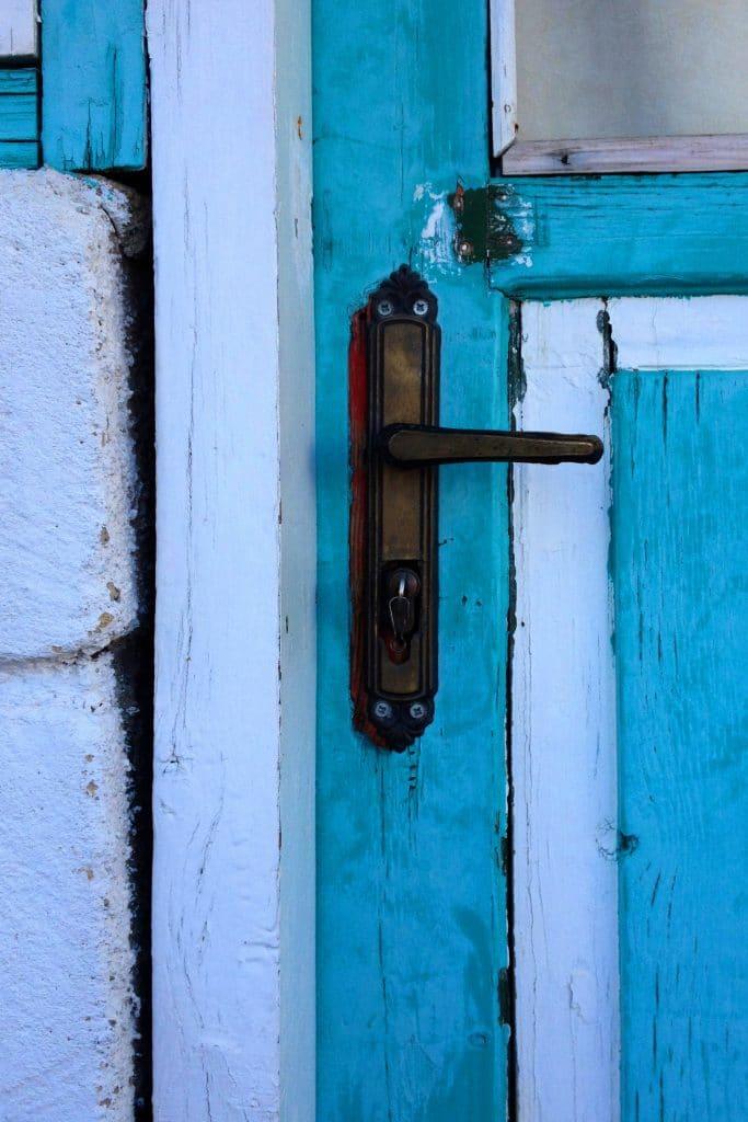 drzwi zewnętrzne - klamka