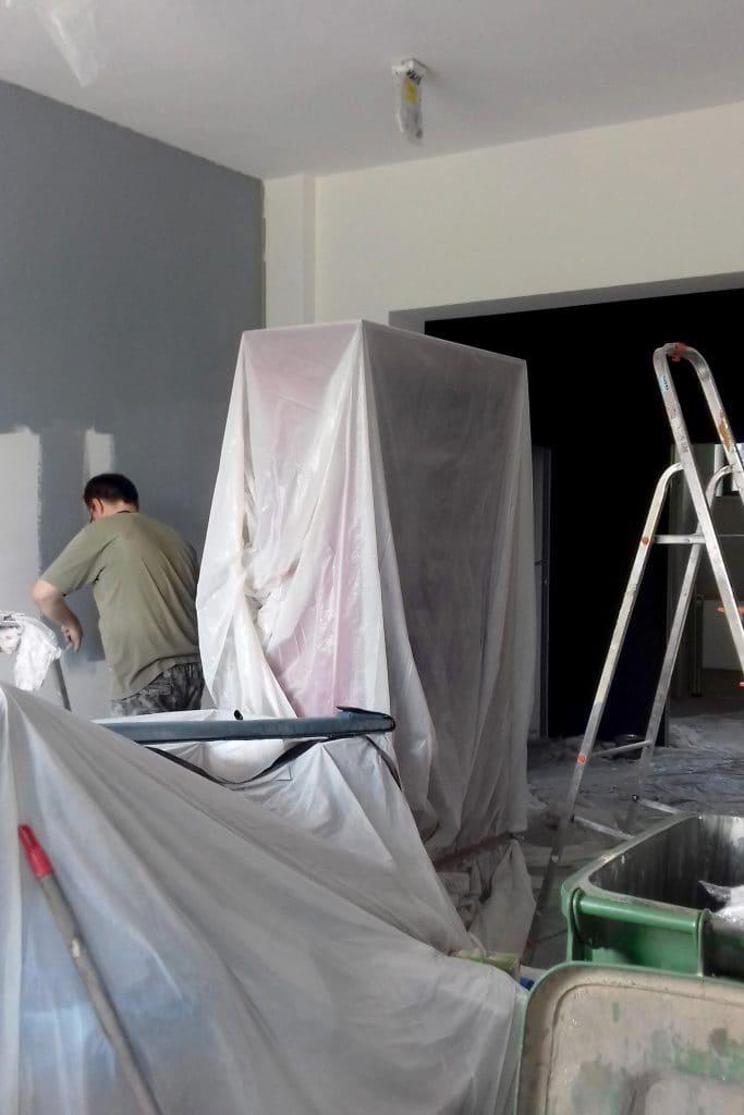 prace remontowe w biurze